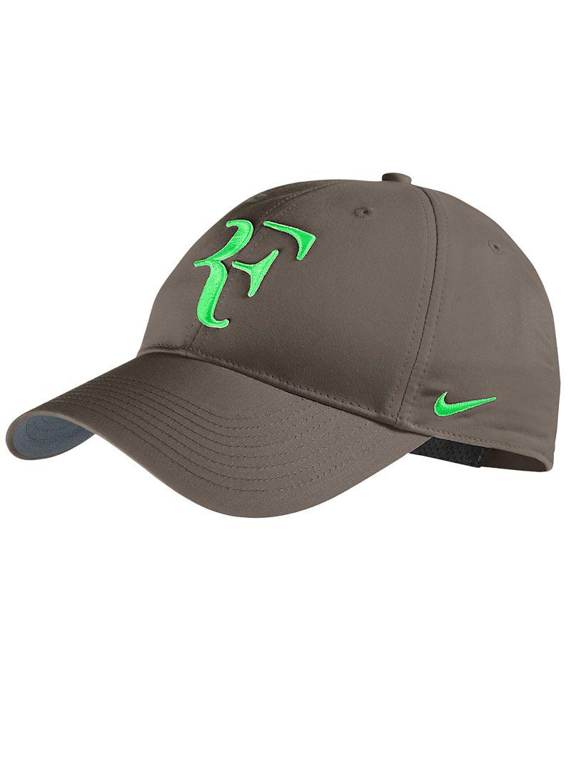Roger Federer 2013 clay court Nike hat #fashion #tennis | Game,Set ...
