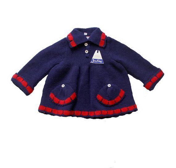 VINTAGE 60/70's / enfant / haut / pull / robe par Prettytidyvintage, €27.50