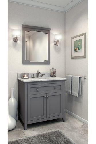 Design A Bathroom Vanity Online Stunning 36'' Chatham Shaker Vanity With Top And Bowl Van10236T Inspiration Design