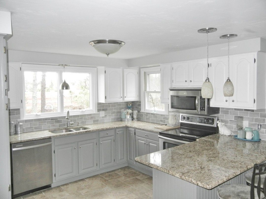 Best Ancient Gray Subway Tile For Backsplash From Lowe S 400 x 300