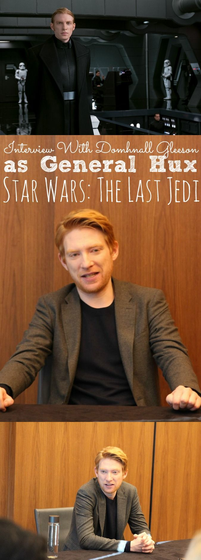 Interview With Domhnall Gleeson On His Role As General Hux ...