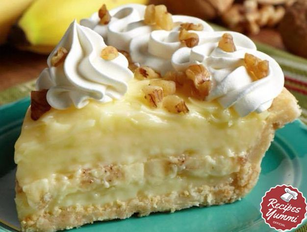 OLD FASHIONED BANANA CREAM PIE Follow me onFacebookandInstagramtoo You  Thanksgiving