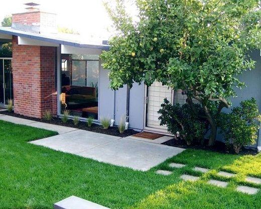 Parques de casas modernos jardines modernos peque os for Jardin pequeno moderno