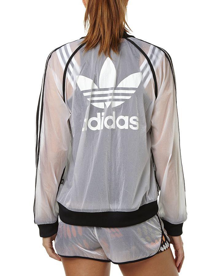 590db8815e05 Adidas Originals Rita Ora Transparent Windbreaker