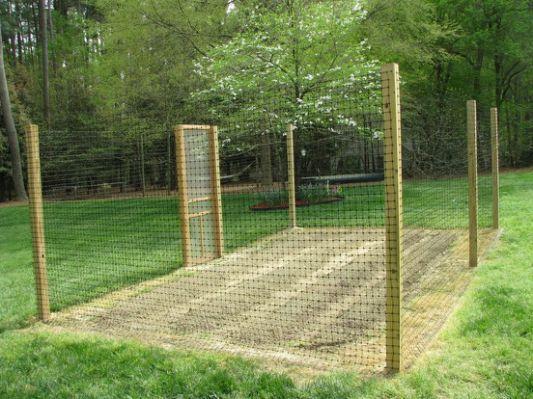 Deer Proof Gardens Deer Fence Deer Resistant Garden Fenced