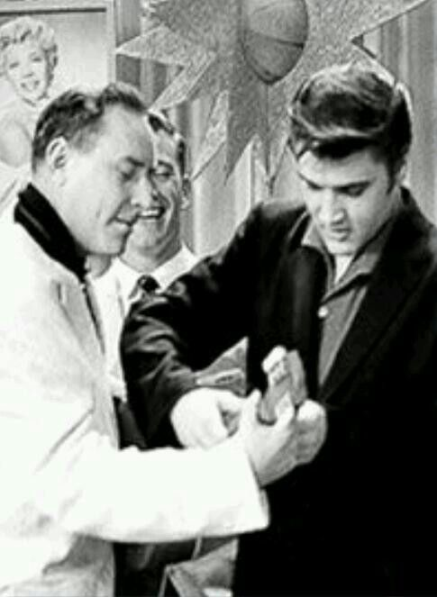 Rare Photo of Elvis Presley