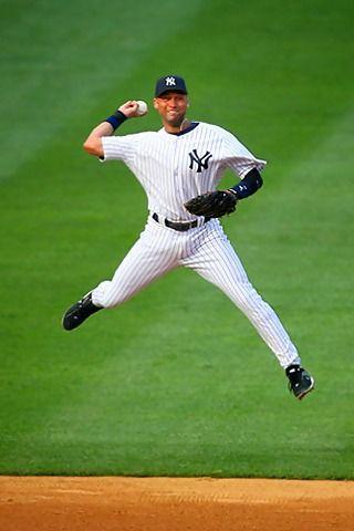 Derek Jeter Mobile Wallpaper Jpg 320 480 Pixels Baseball Derek Jeter Best Baseball Player
