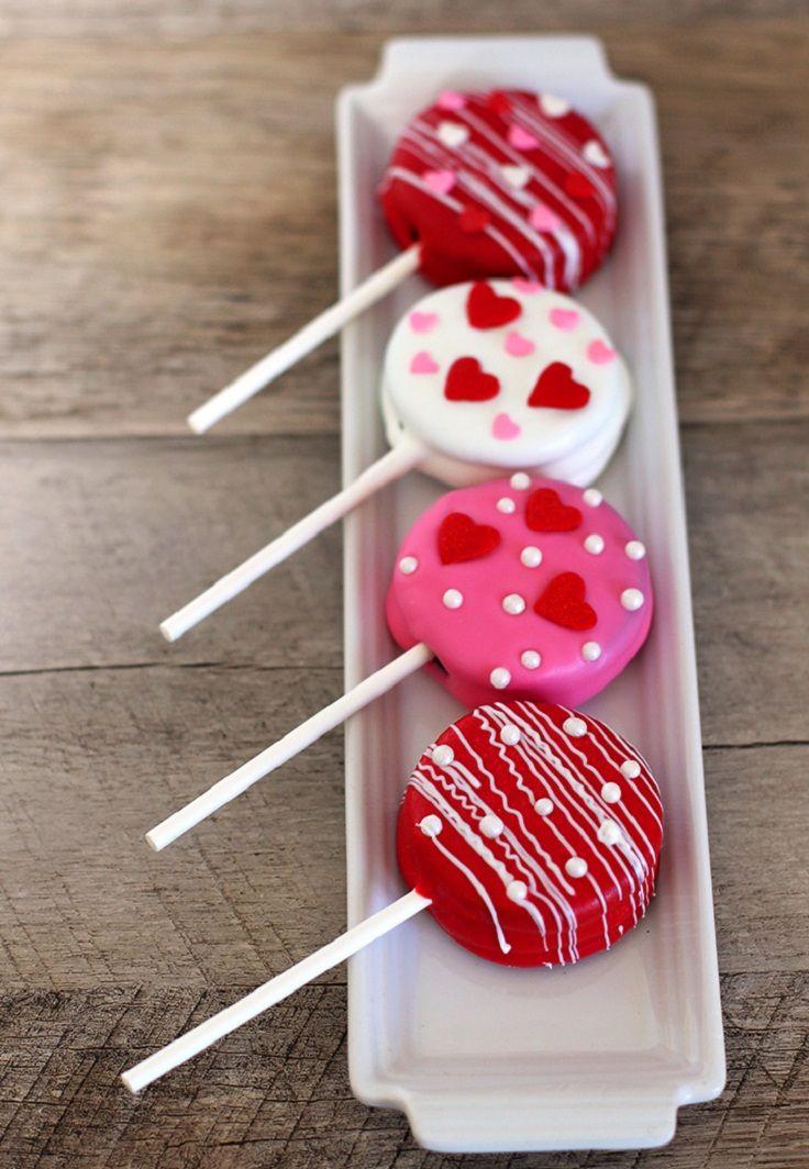 Valentine S Day Oreo Pops 14 Amorous Valentine S Day Treats For