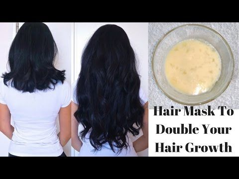 Hair Mask To Double Your Hair Growth In Just 1 Month Diy Egg Hair Mask Youtube Rapid Hair Growth Hair Growth Challenge Hair Mask For Growth