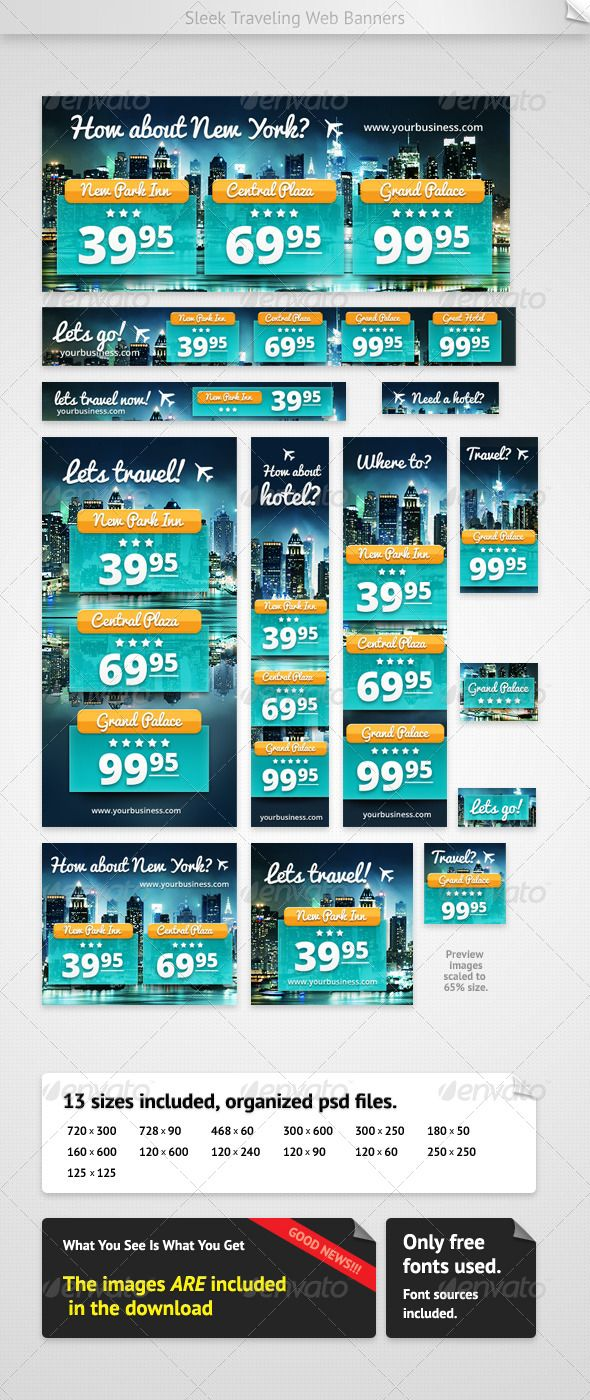 Hotel Accommodation Banners Business Consultant Banners