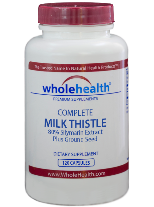 Our Complete Milk Thistle Extract contains a premium-quality extract standardized to 80% silymarin and is combined with 250mg of milk thistle seed per vegetarian capsule. Milk Thistle Extract benefits by rejuvenating liver cells and support healthy liver function.