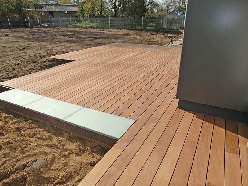 Superior Holzterrasse Mit Glaselement