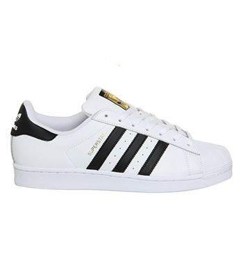 best service 752a3 b79c5 Adidas Superstar 1 White Black Foundation - Unisex Sports
