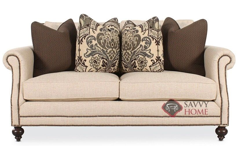 Sensational Brae Loveseat With Down Blend Cushions By Bernhardt Home Remodeling Inspirations Basidirectenergyitoicom