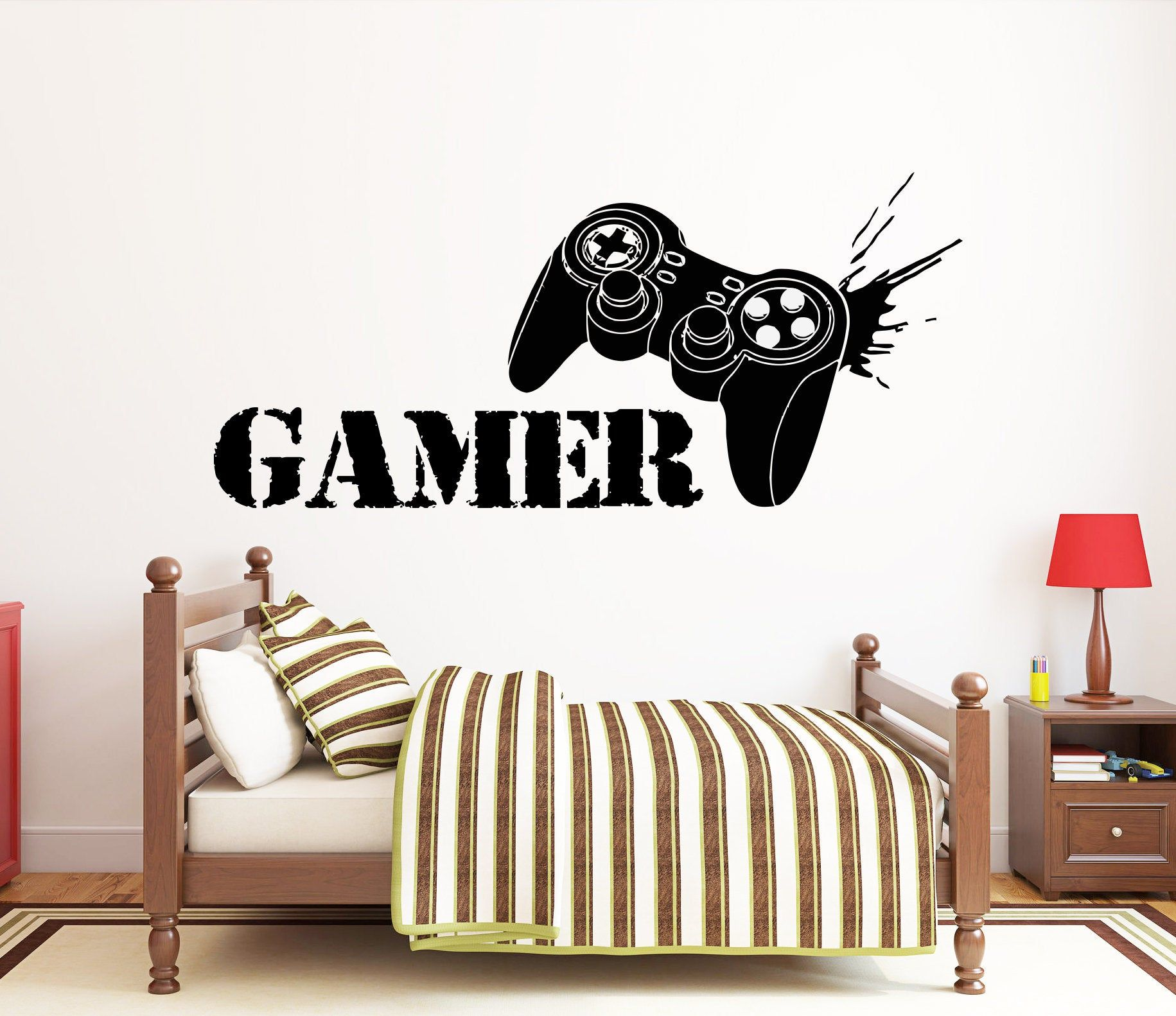 Gaming Wall Sticker Game On !