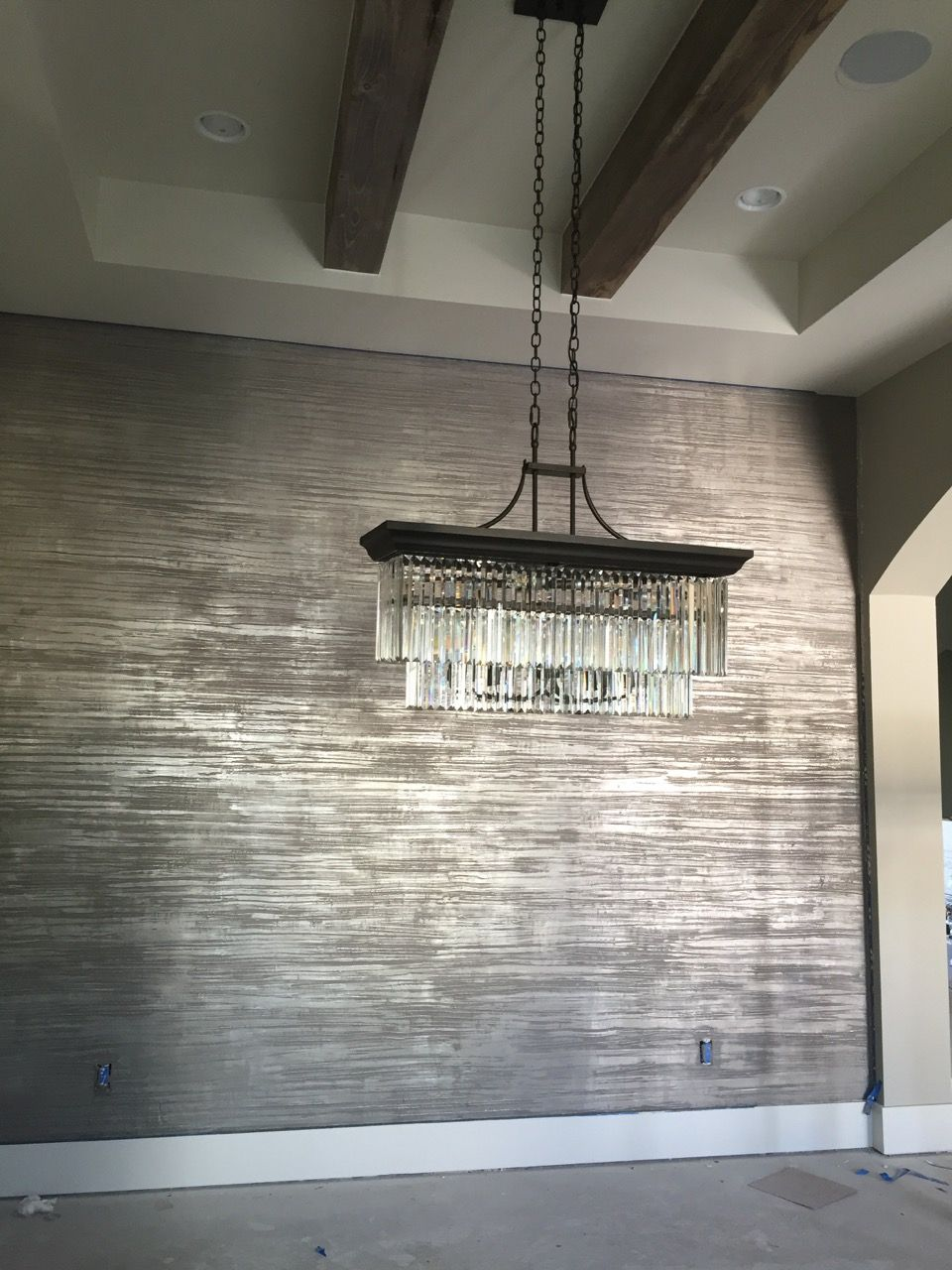 wallpaper ideas for living room feature wall brown paint colors rooms 20 accent you ll surely wish to try this at home bedroom painted wood diy bathroom kitchen shiplap