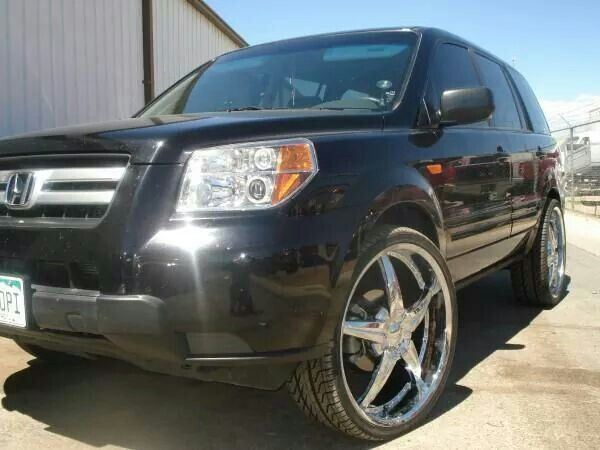2008 Honda Pilot Exl 4wd On 24 S That S So Awesome 2008 Honda Pilot Honda Pilot Honda