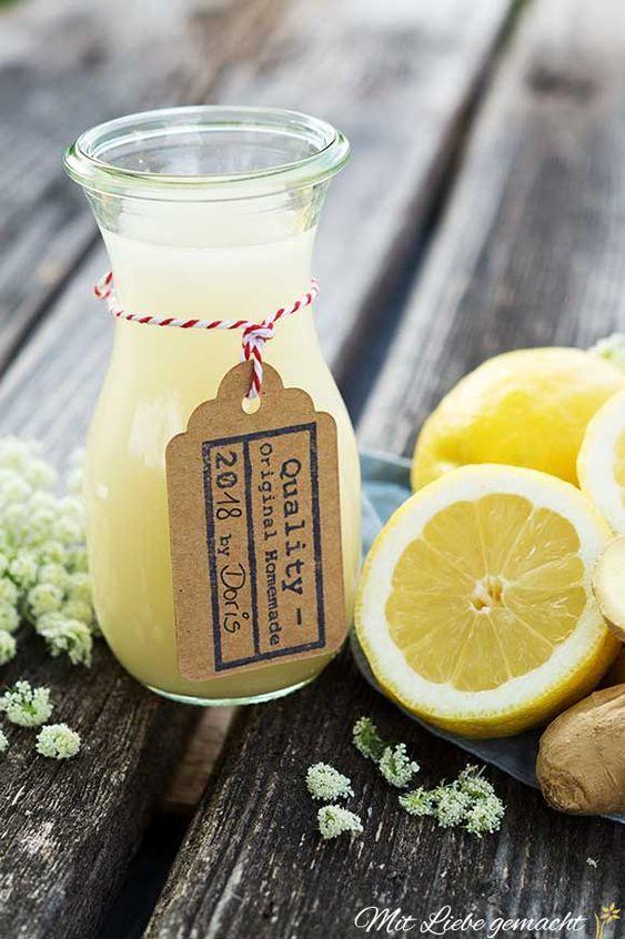 Fermentiertes Ginger Ale - erfrischender Sommergenuss! | Mit Liebe gemacht