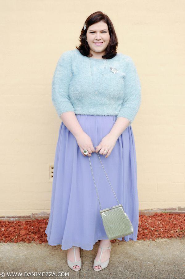 5eb04331f6 aussie curves plus size fashion blogger outfit australian curvy modcloth  crossroads lane bryant glomesh vintage pastel purple lilac blue bling  diamonds ...