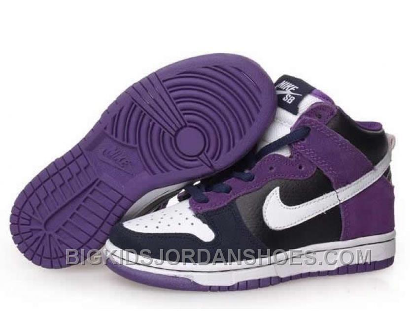 watch 1df09 87bb1 New Kids Nike Dunks High SB Un Heavens Gate Purple Black ...