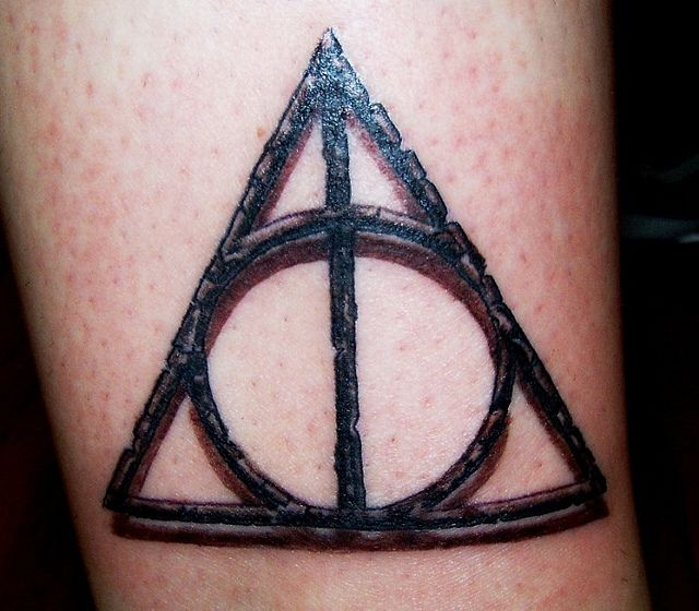 Deathly Hallows Symbol Tattoo Deathly Hallows Symbol Symbols
