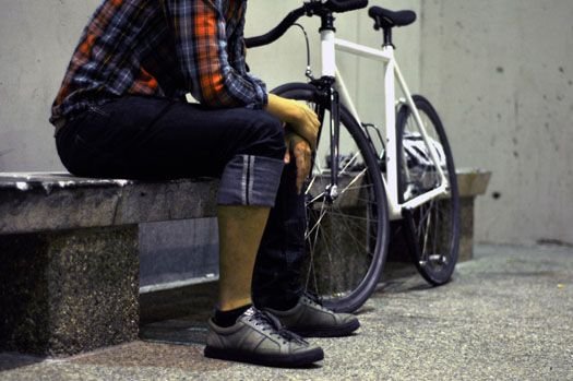 Colin Young Ross Levi's Commuter Jeans | Biking | Cycling outfit