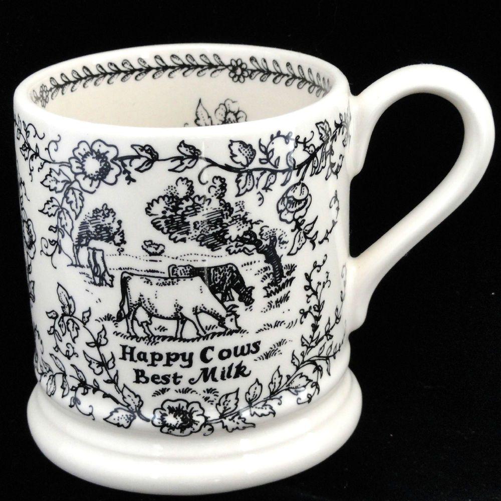 Emma Bridgewater Mug Happy Cows Best Milk No Bull No Milk Dairy Uk Bridgewater Emma Bridgewater Pottery Emma Bridgewater