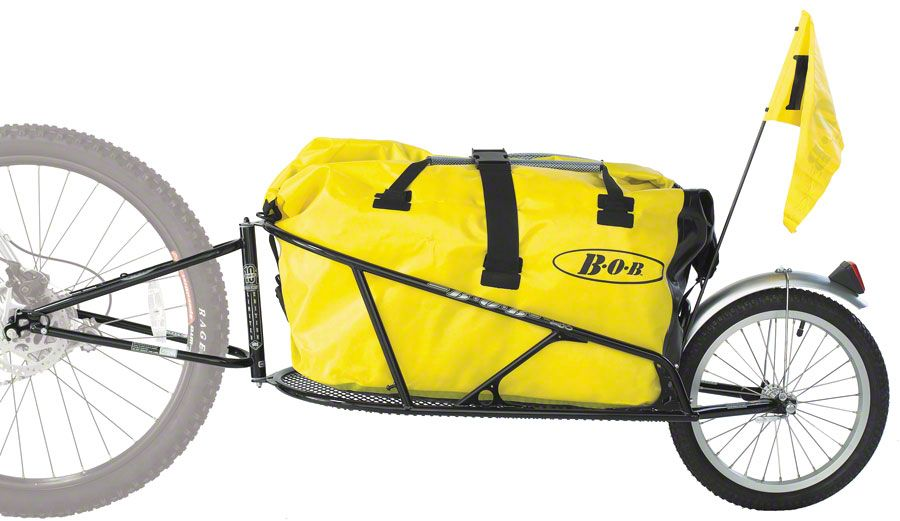 B O B Yak Plus Trailer With Drysak Black Bisiklet