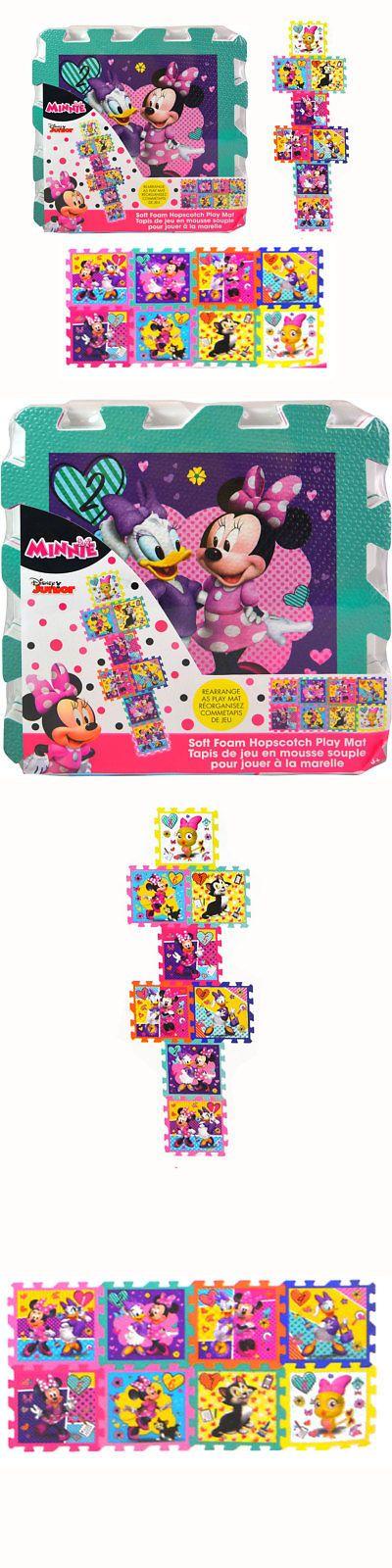 Minnie 19220 Disney Minnie Mouse Soft Foam Hopscotch Play Mat