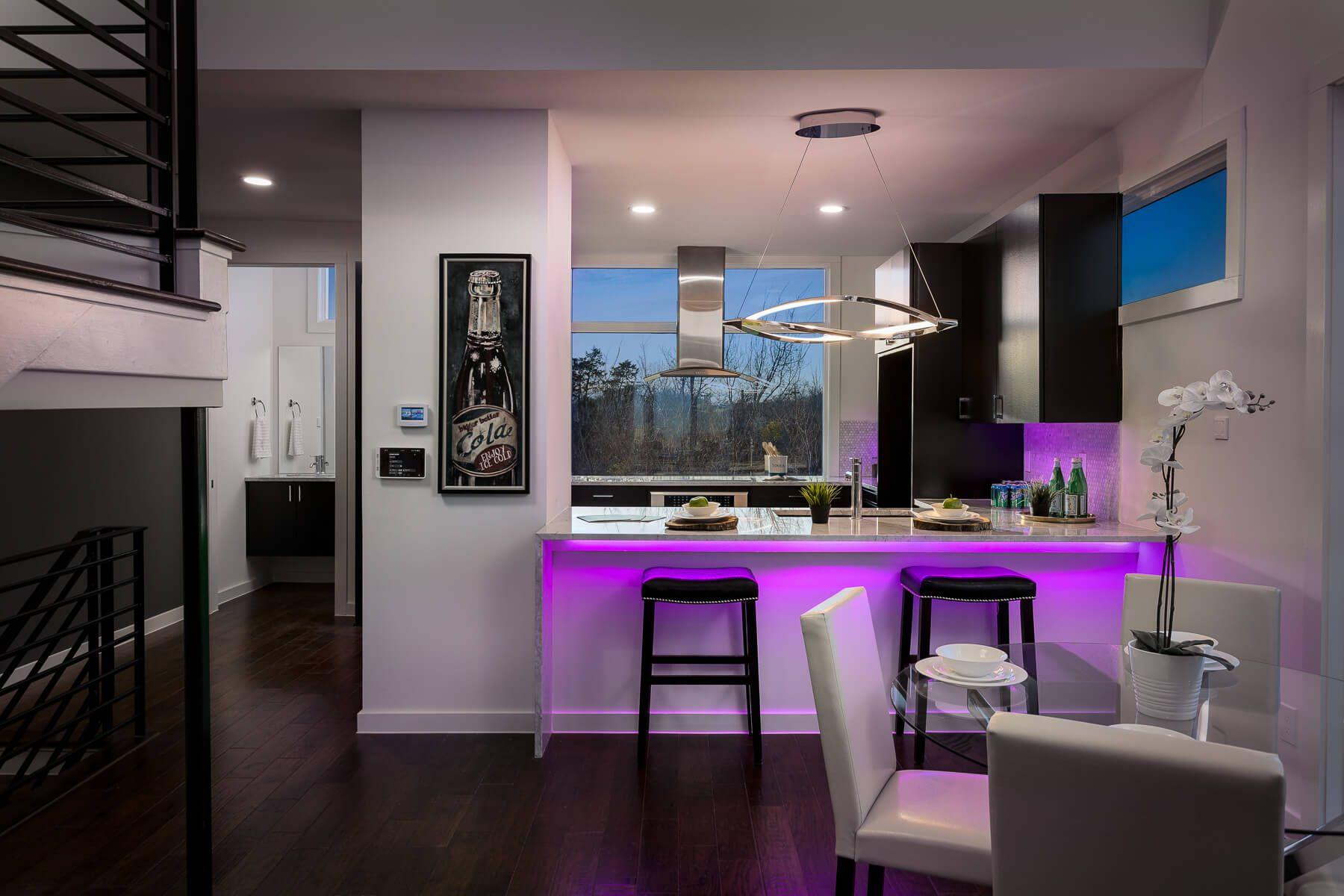 Lichtsteuerung Mit Loxone Atemberaubende Beleuchtung Kuchen Inspiration Smart Kitchen Und Kuchendesign