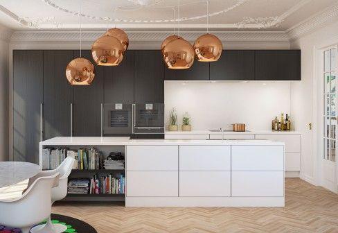 offen und geschlossene fl chen herd im r ckwertigen bereich dekorative leuchten ber. Black Bedroom Furniture Sets. Home Design Ideas