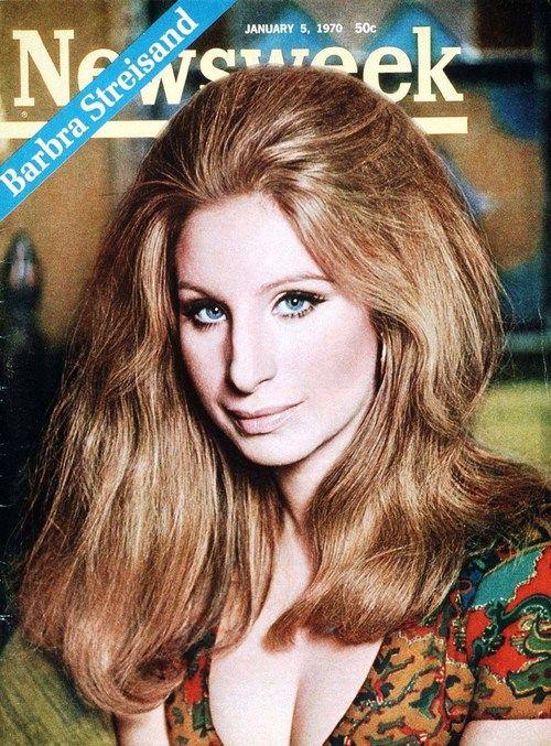 Barbra Streisand On The Cover Of Newsweek January 1970 Barbra