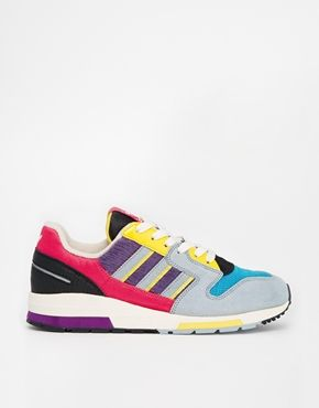 adidas colourful trainers