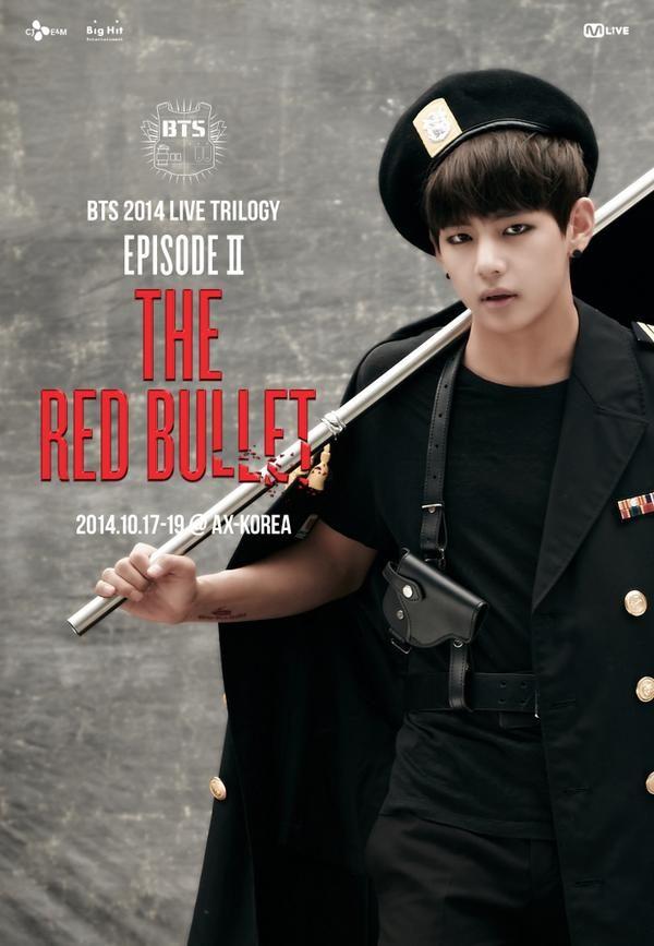 <BTS 2014 LIVE TRILOGY EPISODE Ⅱ: THE RED BULLET> 2nd BULLET. V  #Danger #V
