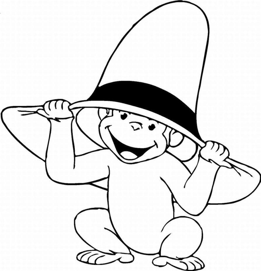 monkey coloring pages - Free Large Images | Art - [Coloring for kids ...
