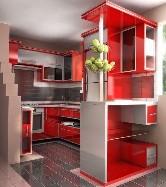 Keren Ini Dia 10 Model Kitchen Set Minimalis Paling Unik Desain