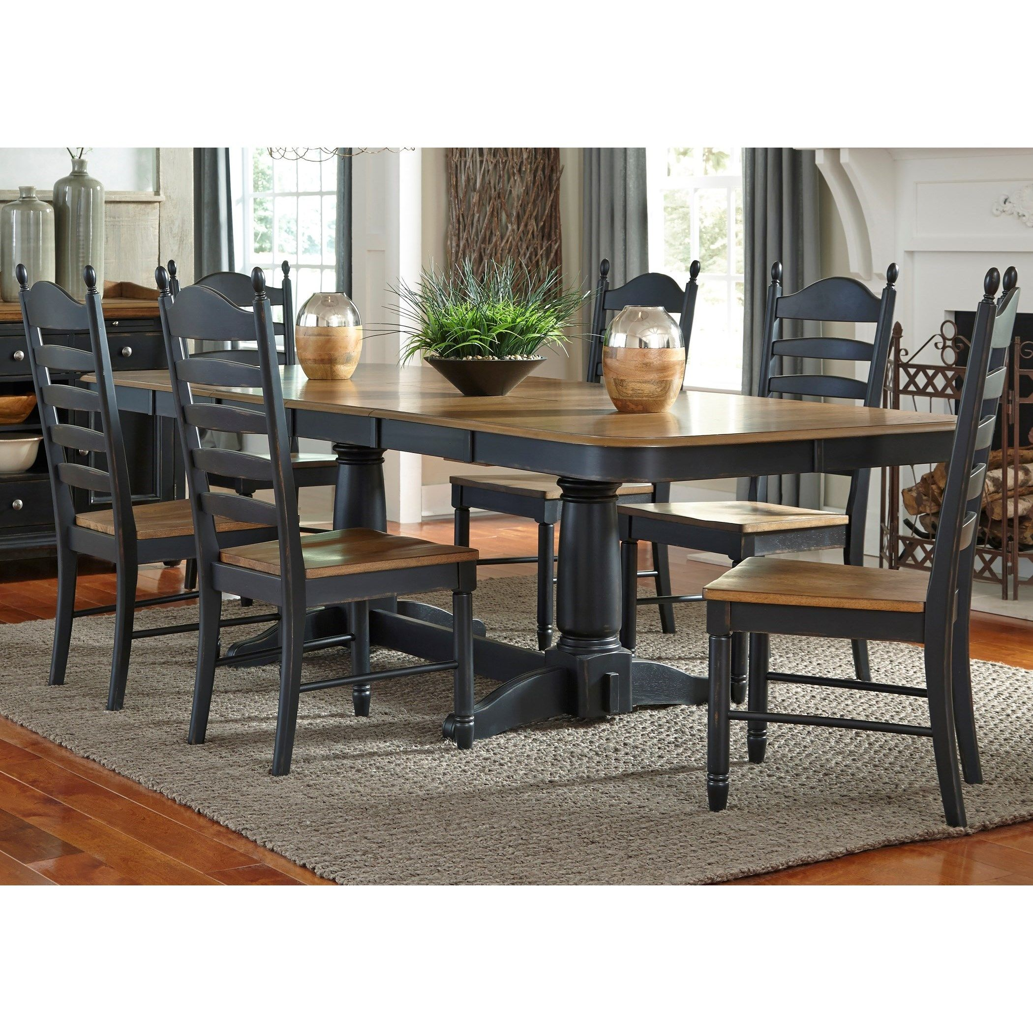 Pin By Michele Kasunich On Kitchen Table Liberty Furniture Extension Dining Table Furniture