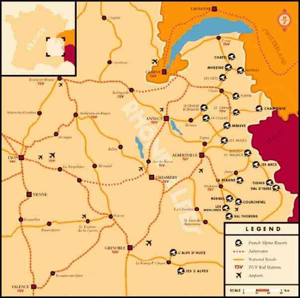 awesome Map Ski Resorts France  Holidaymapq  Pinterest  Ski