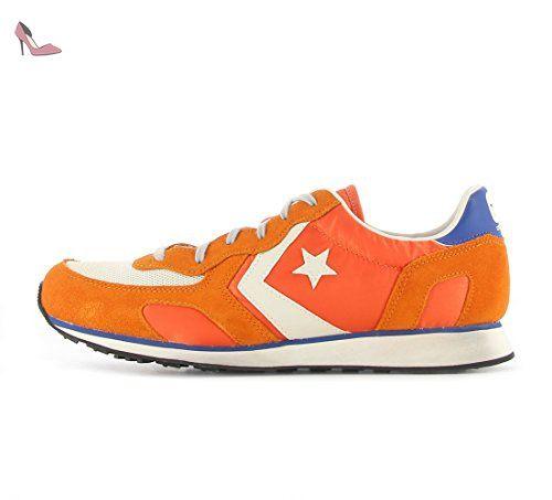 converse orange homme