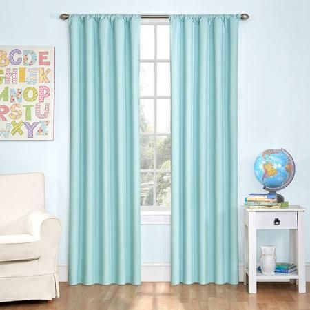 Eclipse Curtains Kids Microfiber Single Curtain Panel
