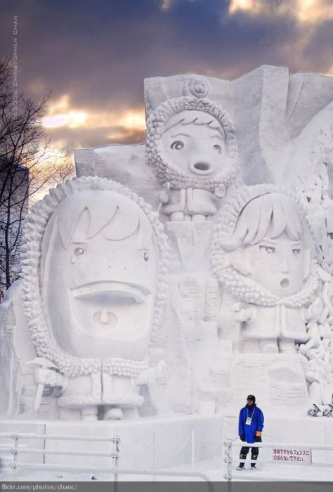 Amazing snow sculptures from around the globe - Socialphy