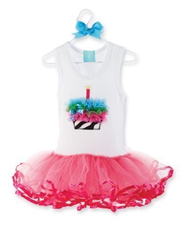 Birthday Boutique Wild Child Cupcake Tutu Dress By Mud Pie Trendy And Stylish Outfits Gifts For