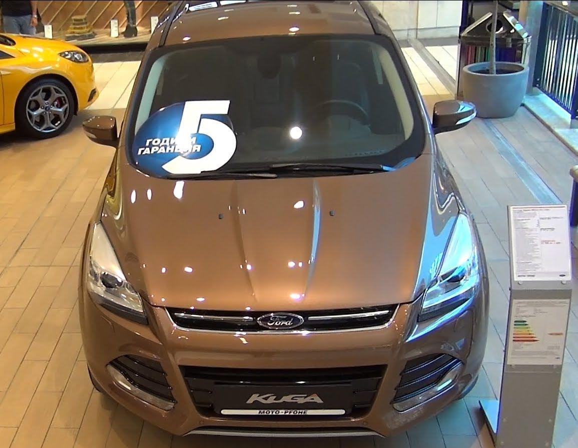 Ford Kuga Titanium 4wd 2 0 Tdci 163 Hp Ford Kuga