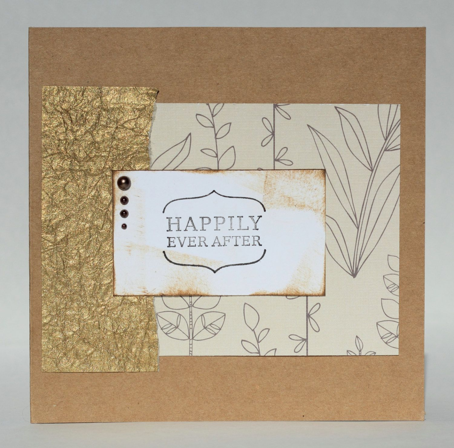 Happily ever after wedding card congrats congratulations happily ever after wedding card congrats congratulations greeting card card kristyandbryce Choice Image