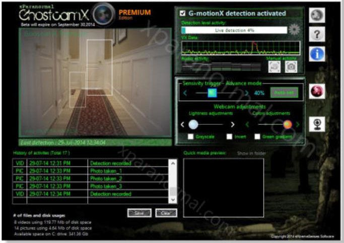 motion detection software