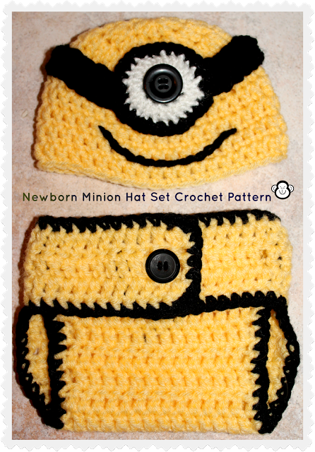 3 Monkeys Mommy Despicable Me Inspired Newborn Accessories