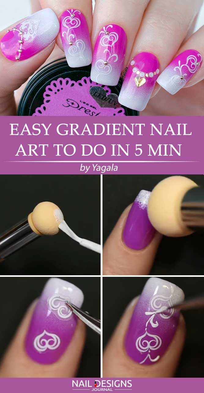Super Easy Aeropuffing Nail Art Tutorials To Do At Home Funky