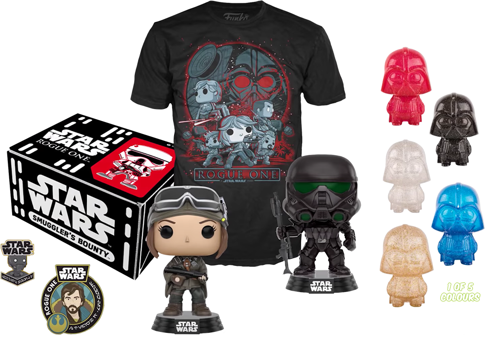 Funko Pop Tees Shirts Star Wars Smuggler/'s Bounty Rebels Rogue One Force Awakens