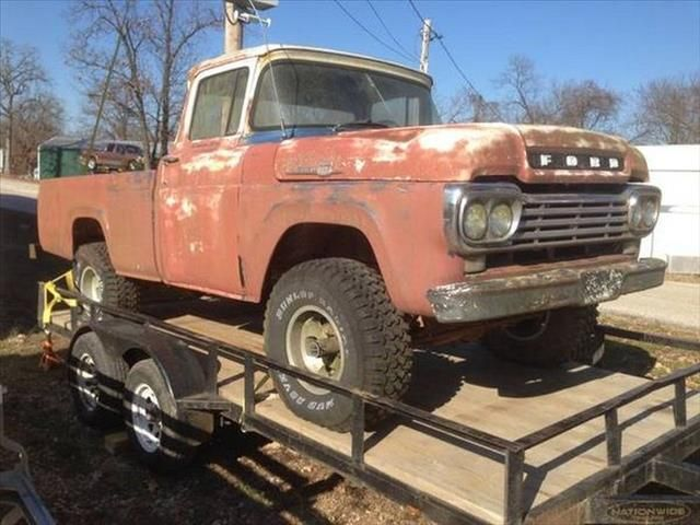 Used Classic Car For Sale In Missouri 1959 Ford F100 Pickup