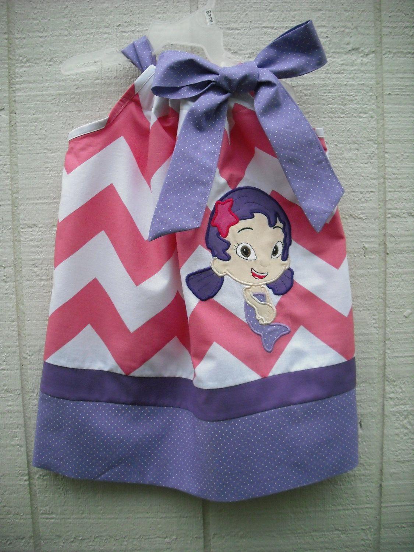 Oona Bubble Guppies Pillowcase Dress | Saleena\'s 2nd Birthday Bubble ...